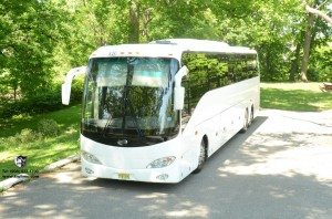 50 Passenger Party Bus NJ WEDDING LEAD CAR LIMOS