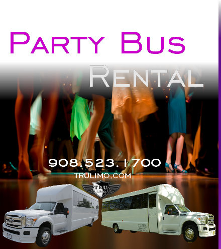 Party Bus Rental Services COLTS NECK NEW JERSEY PARTY BUSES