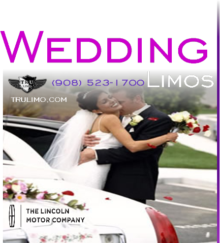 Wedding Limousines for Rent SADDLE BROOK NEW JERSEY WEDDING LIMOUSINES