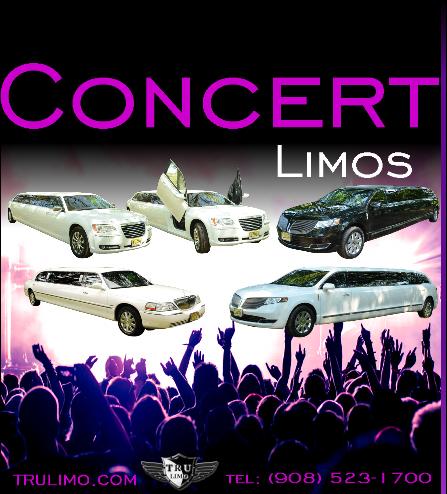 concert limos NJ CONCERT LIMOS