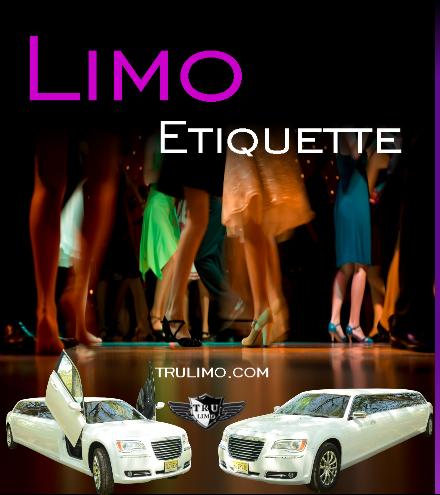 limo etiquette NJ LIMO RENTAL ETIQUETTE