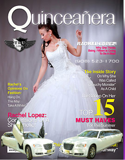 quinceanera nj limo rental QUINCEANERA LIMO NJ