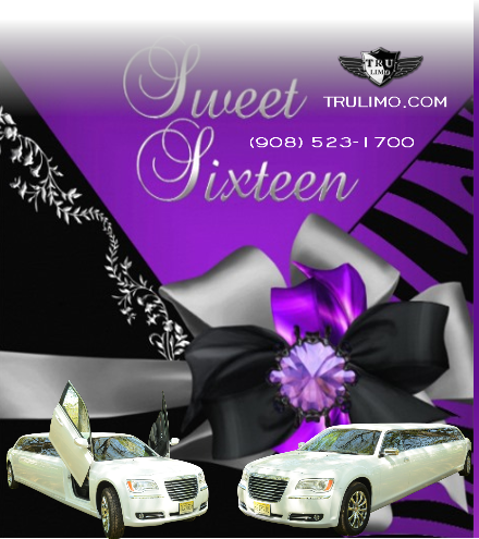 sweet sixteen limo SWEET SIXTEEN LIMOS NJ